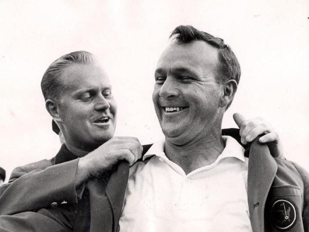 Palmer's 4th Jacket in 1964 from his arch rival Jack Nicklaus