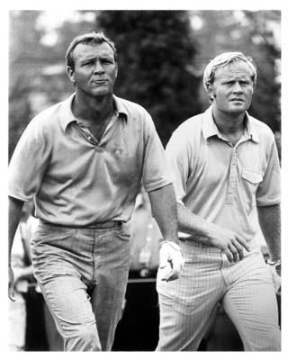 Best photo ever of Arnie & Jack