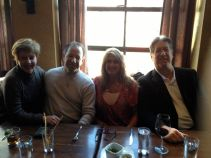 Dinner at Cocina 24 in Asheville with Margo, John and Erin of New York soon to be North Carolians