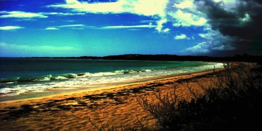 La Plata Beach in Vieques Island