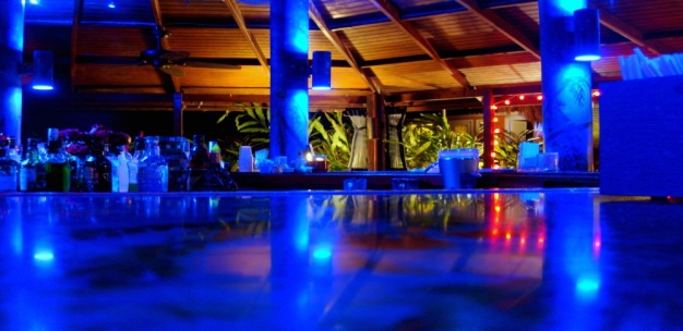 Hardroc's favorite bar in Vieques Island, PR