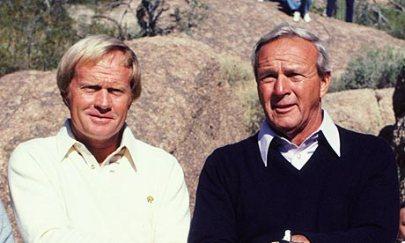 Arnie & Jack circa 1980's