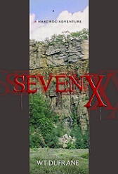 Click on book to be taken to audiobook where you can listen to Alan Dewy's narration of the first two chapters of SevenX!