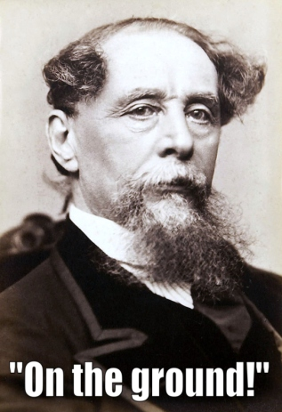 Dickens said this to friends during the stroke that proved fatal