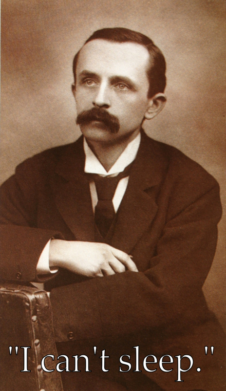 J.M. Barrie - Author of Peter Pan.