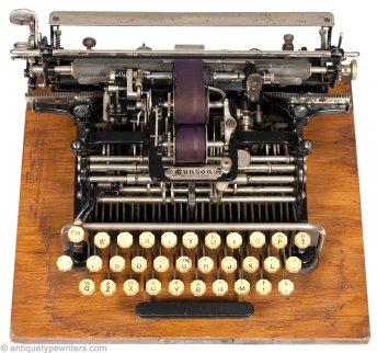 Munson Typewriter 1890.