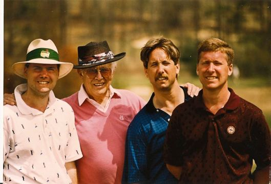All together at the Masters Invitational in 1992