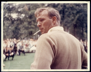 "The ""James Dean"" of professional golf circa 1964"