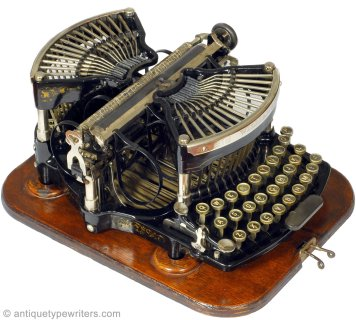 Williams Typewriter Co. 1891