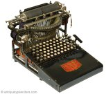 Caligraph American Writing Machine 1892