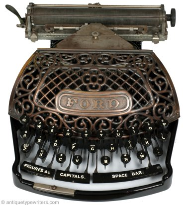 Ford Typewriter Co. 1895