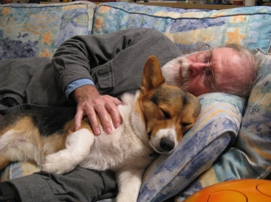 A nap with your best friend