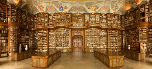 St. Florian Library in Austria.