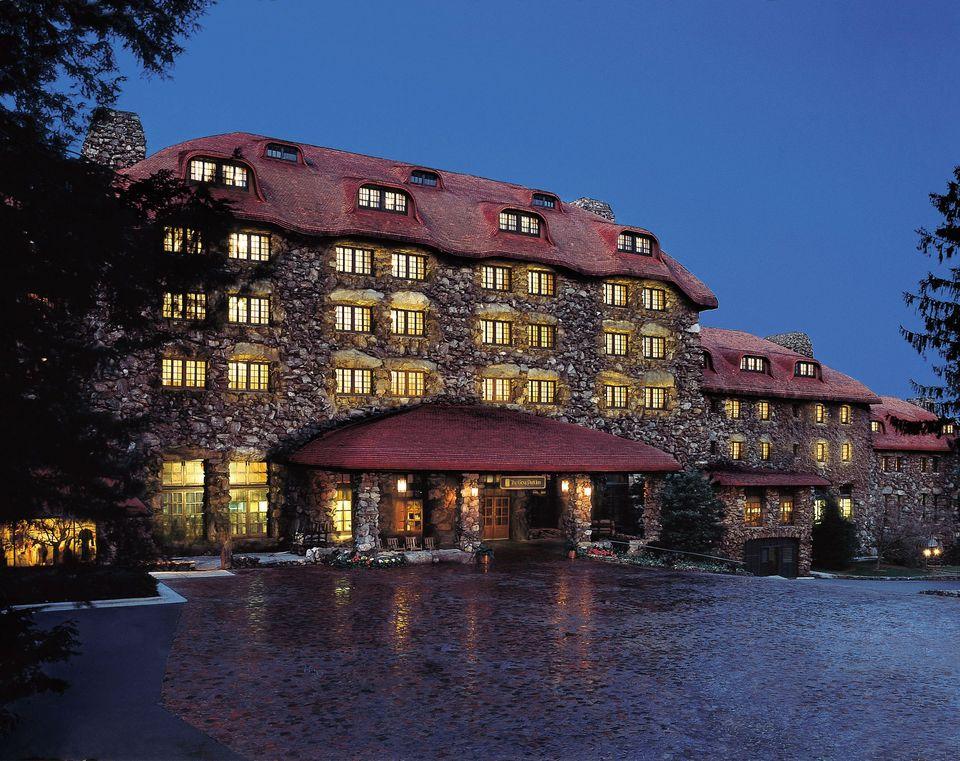 Grove Park Hotel Asheville Nc