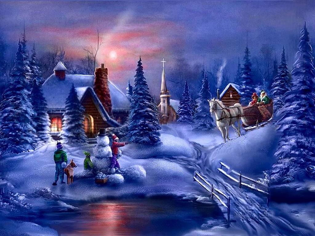 100 Holiday Scenes Wallpaper Hd Wallpapers: A1-winter-scene-wallpaper-hd-1